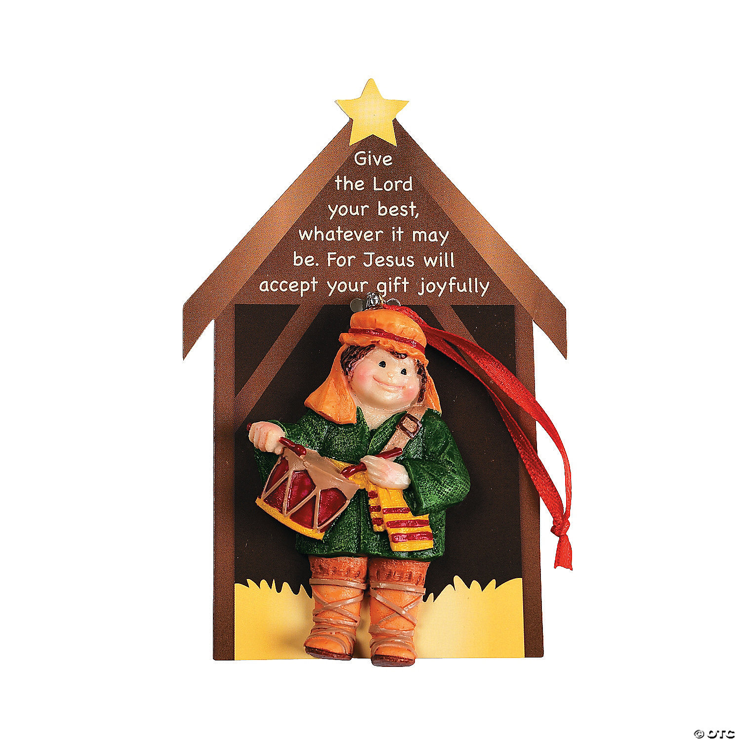 Christmas Drummer.Little Drummer Boy Christmas Ornaments