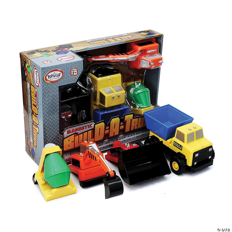 Build A Truck >> Magnetic Build A Truck Construction Set