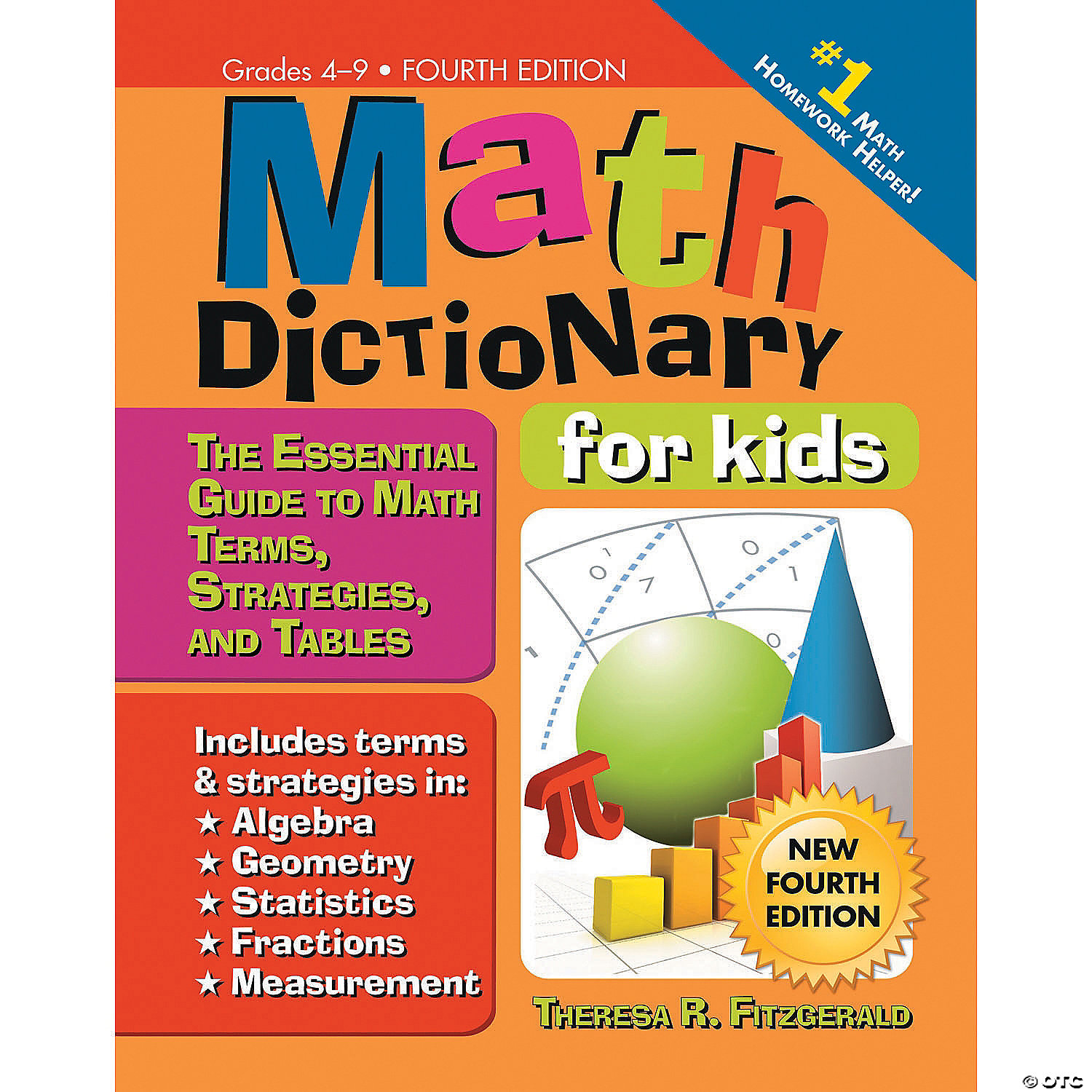 Math Dictionary for Kids - Discontinued
