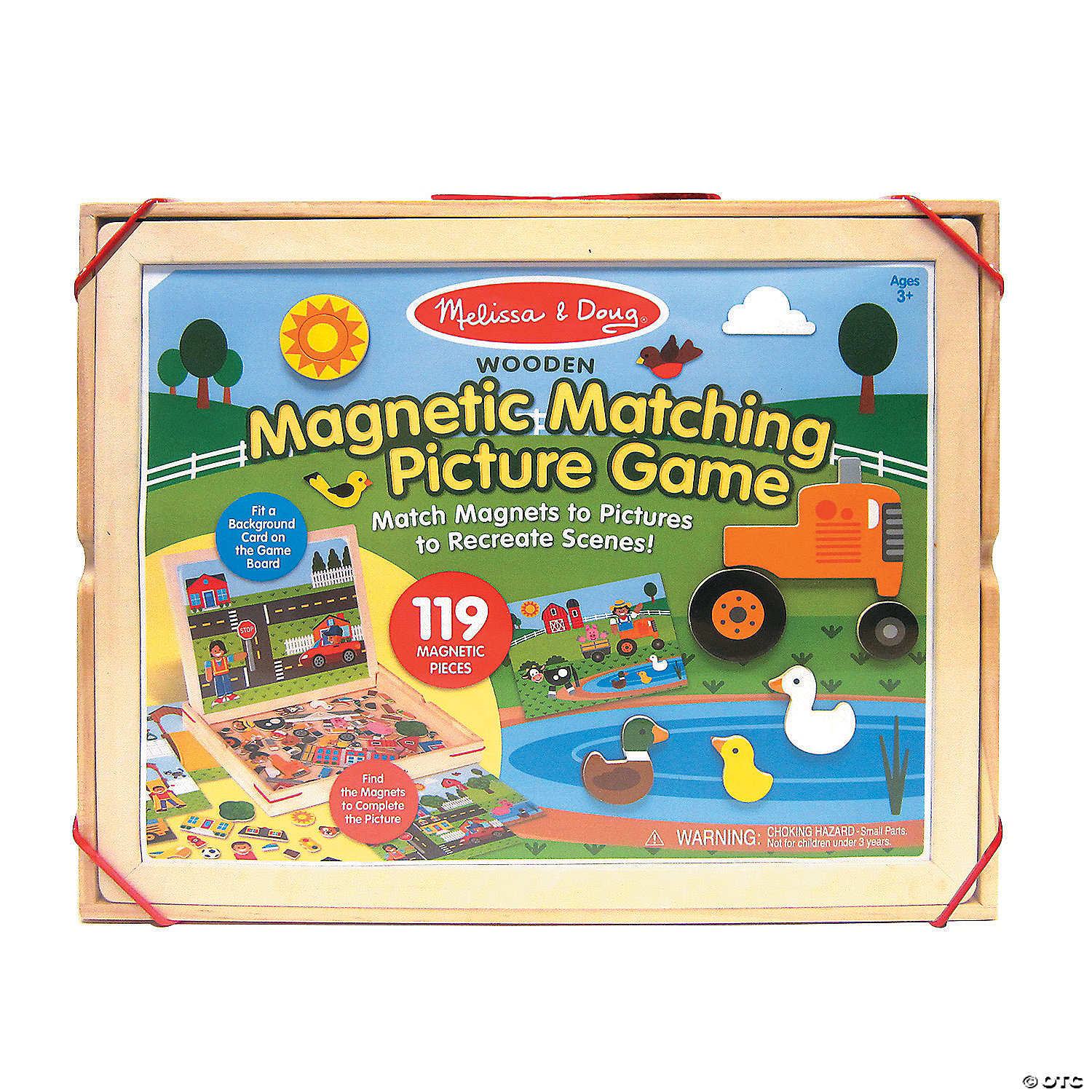 Melissa Doug Magnetic Matching Picture Game Oriental Trading