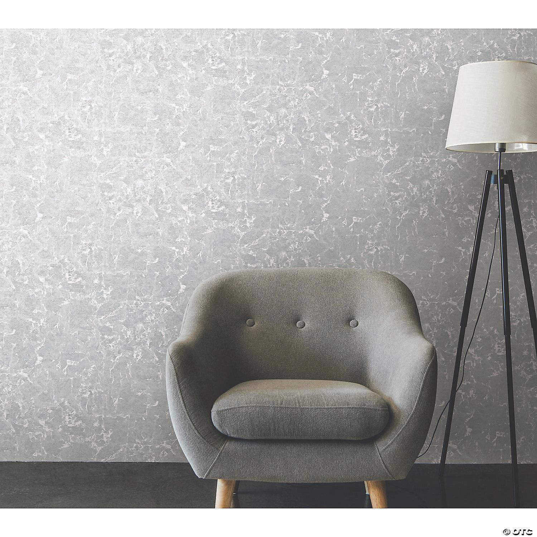 Metallic Silver Gold Leaf Peel Stick Wallpaper Oriental Trading