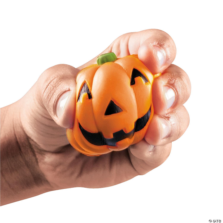 Mini Squeeze Jack O Lantern Stress Toys