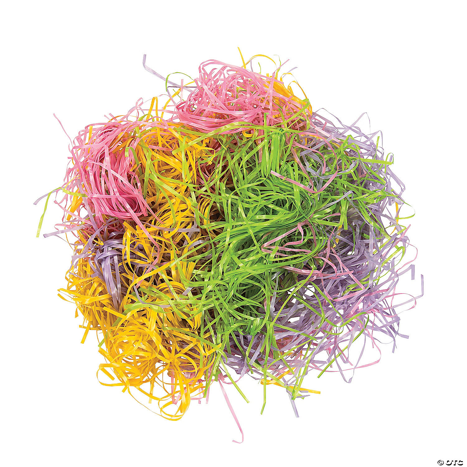 EASTER GRASS Cushion for Children/'s Easter Baskets   Assorted Colors  2 oz Bag