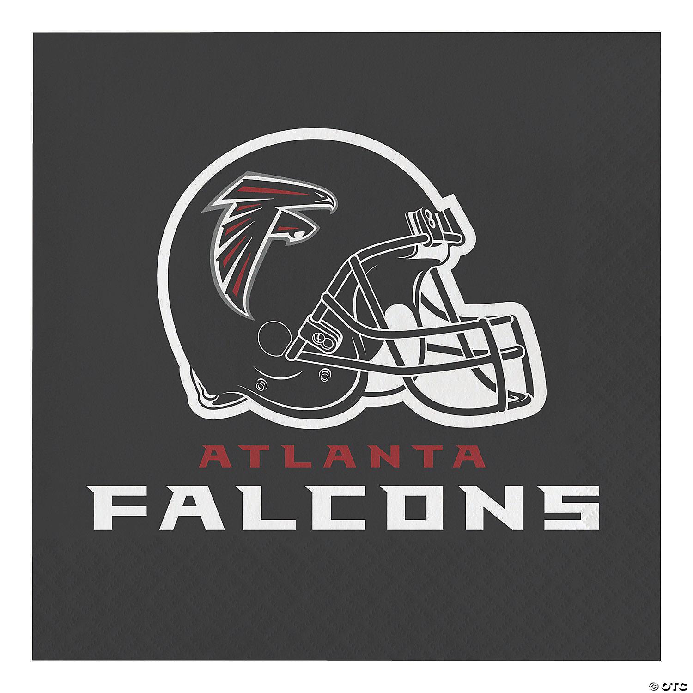 Nfl Atlanta Falcons Napkins 48 Count Oriental Trading