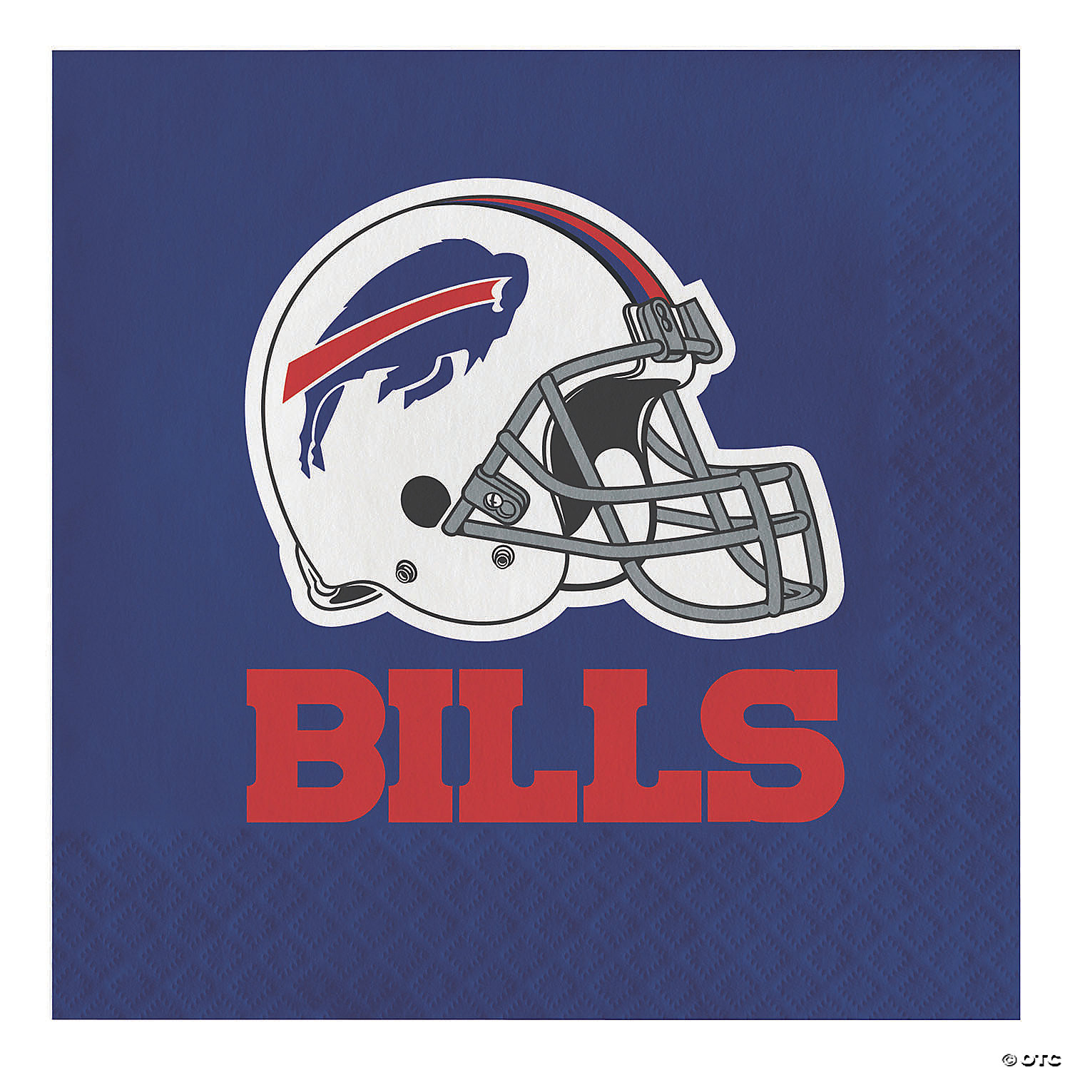 Nfl Buffalo Bills Napkins 48 Count Oriental Trading