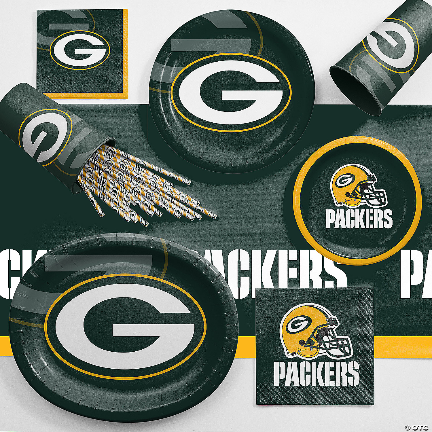 Green Bay Packers Party Decorations from s7.orientaltrading.com