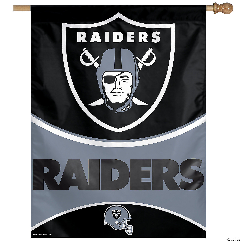 Nfl Las Vegas Raiders Banner Oriental Trading