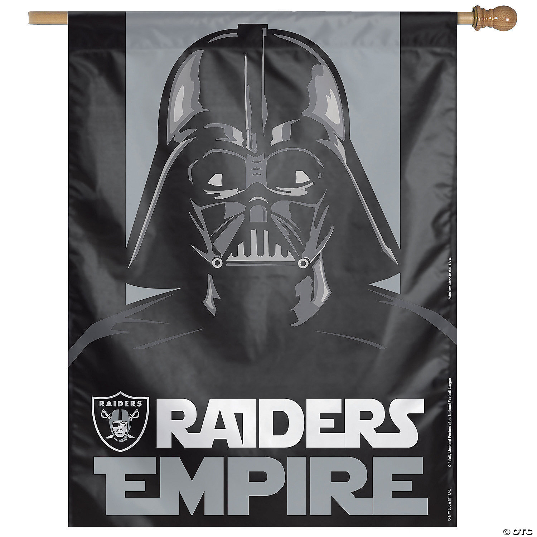Nfl Las Vegas Raiders Star Wars Pennant Banner Oriental Trading