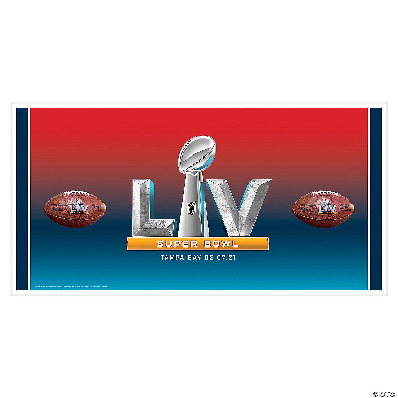 Nfl Super Bowl Lv Banner Oriental Trading