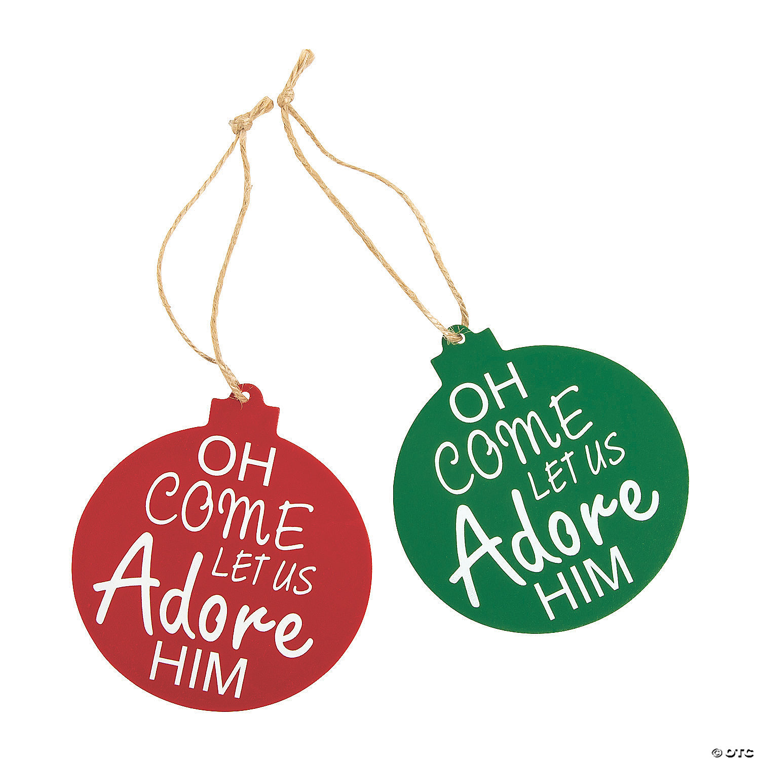 Oh Come Let Us Adore Him Ornaments Oriental Trading