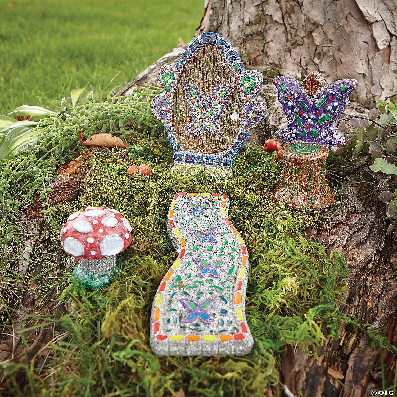 Paint Your Own Stone Fairy Garden Mindware
