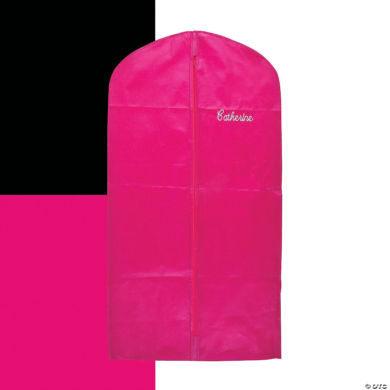 Personalized Garment Bag With Zipper