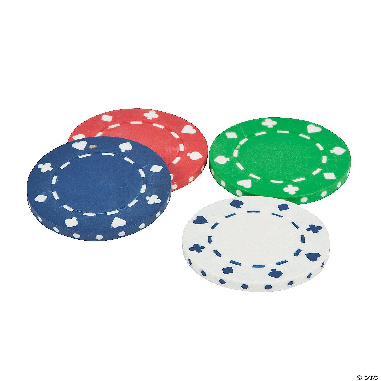 Poker Chips Oriental Trading