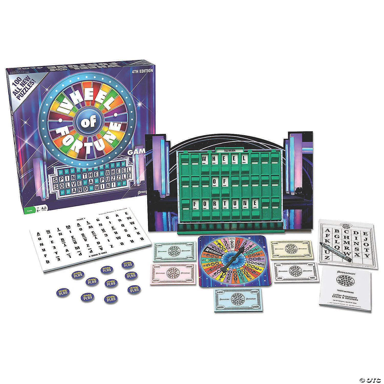 Pressman Wheel Of Fortune Game Oriental Trading