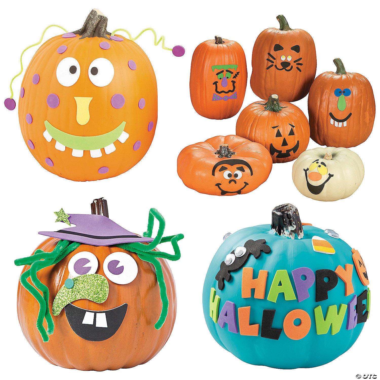 Pumpkin Decorating Craft Kit Assortment