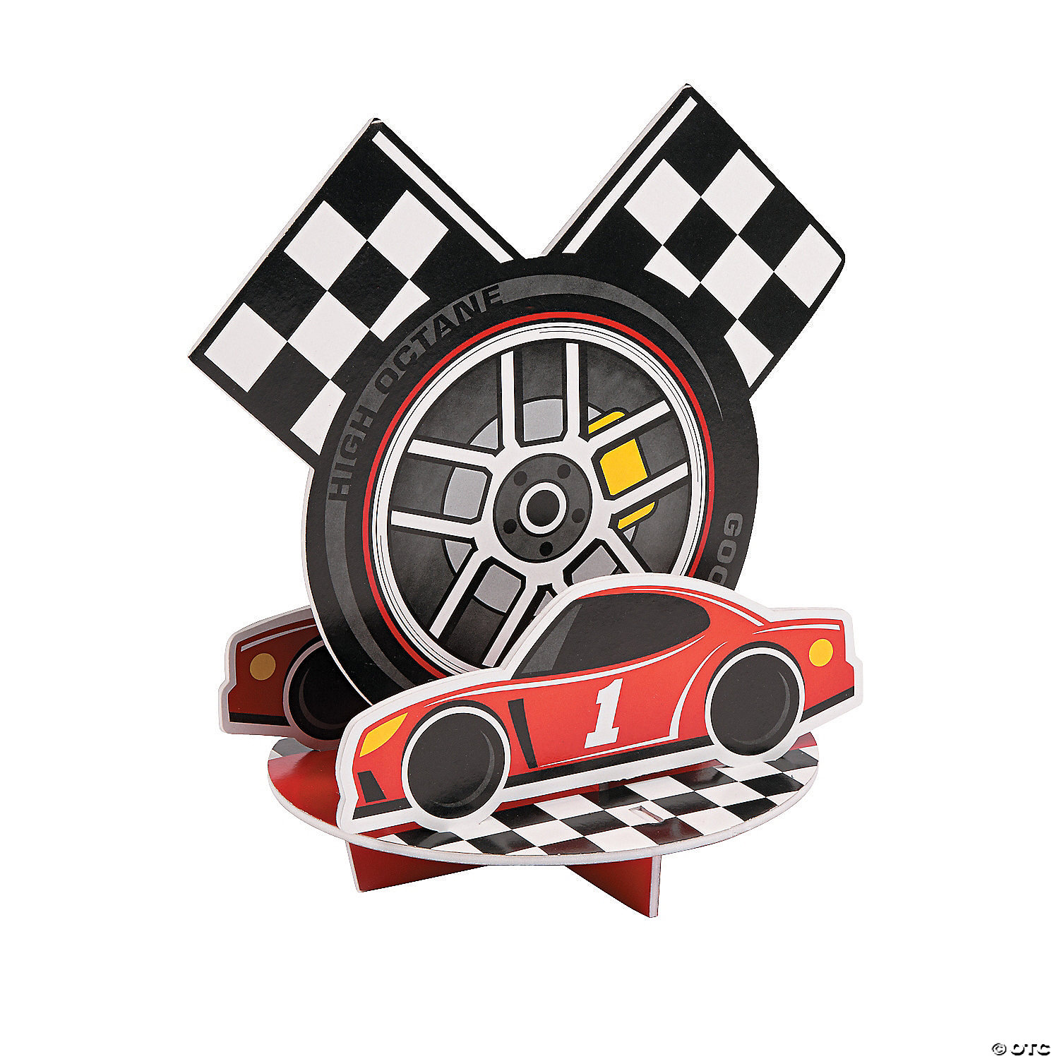 SPEED RACER LUNCH NAPKINS ~ Car Racing Birthday Party Supplies Dinner Large 16