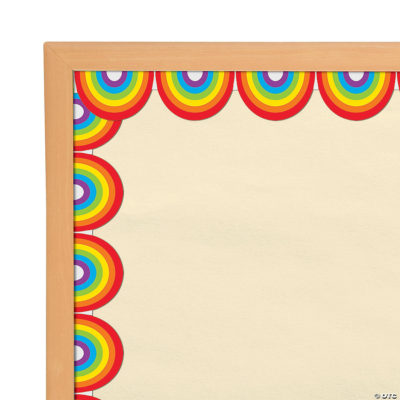 Rainbows Bulletin Board Borders Oriental Trading