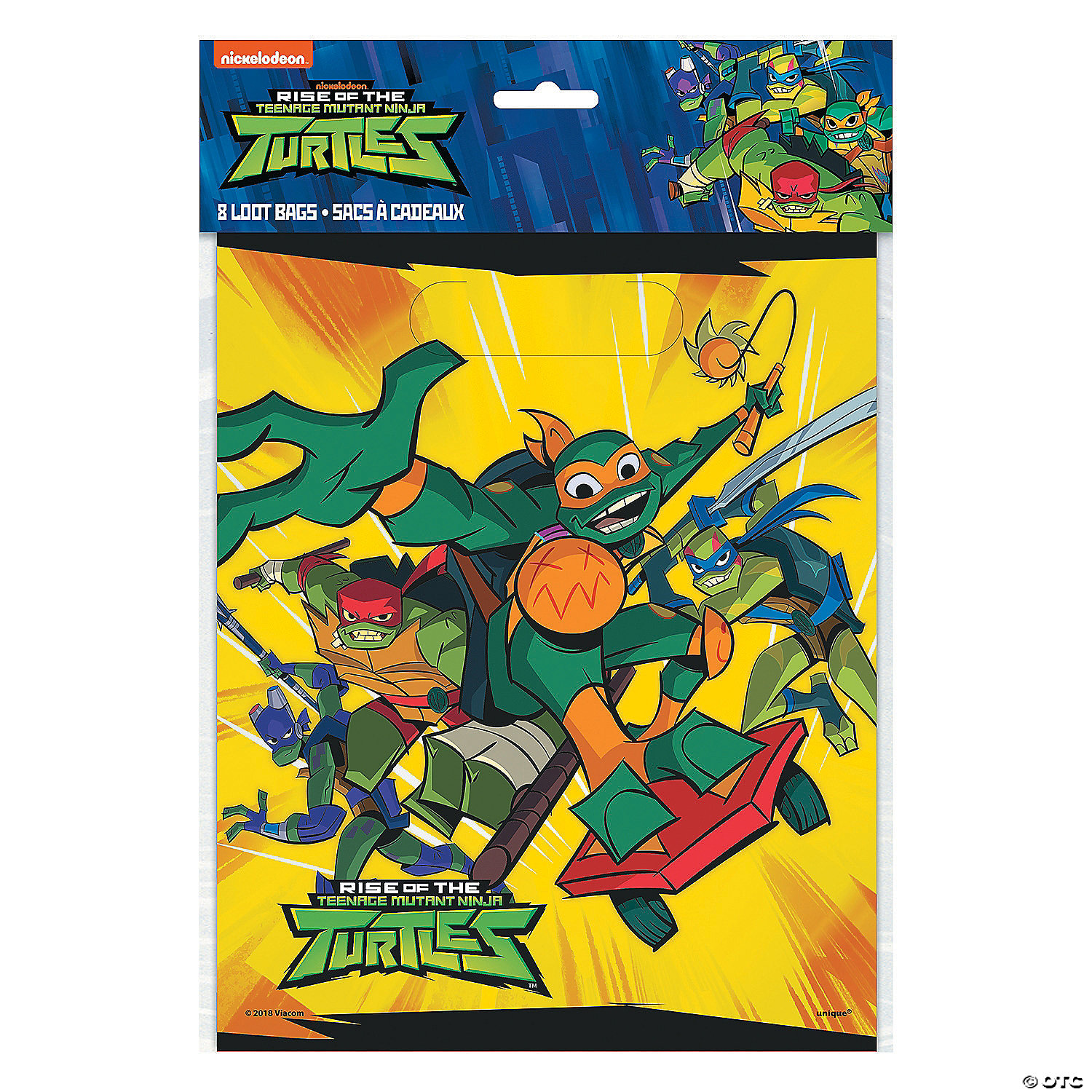 Halloween Rise Of The Ninja Turtles Party City 2020 Rise of the Teenage Mutant Ninja Turtles™ Goody Bags | Oriental