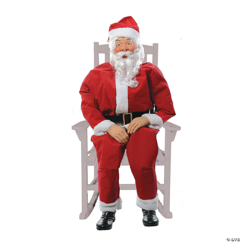 Rocking Santa Claus Outdoor Decoration