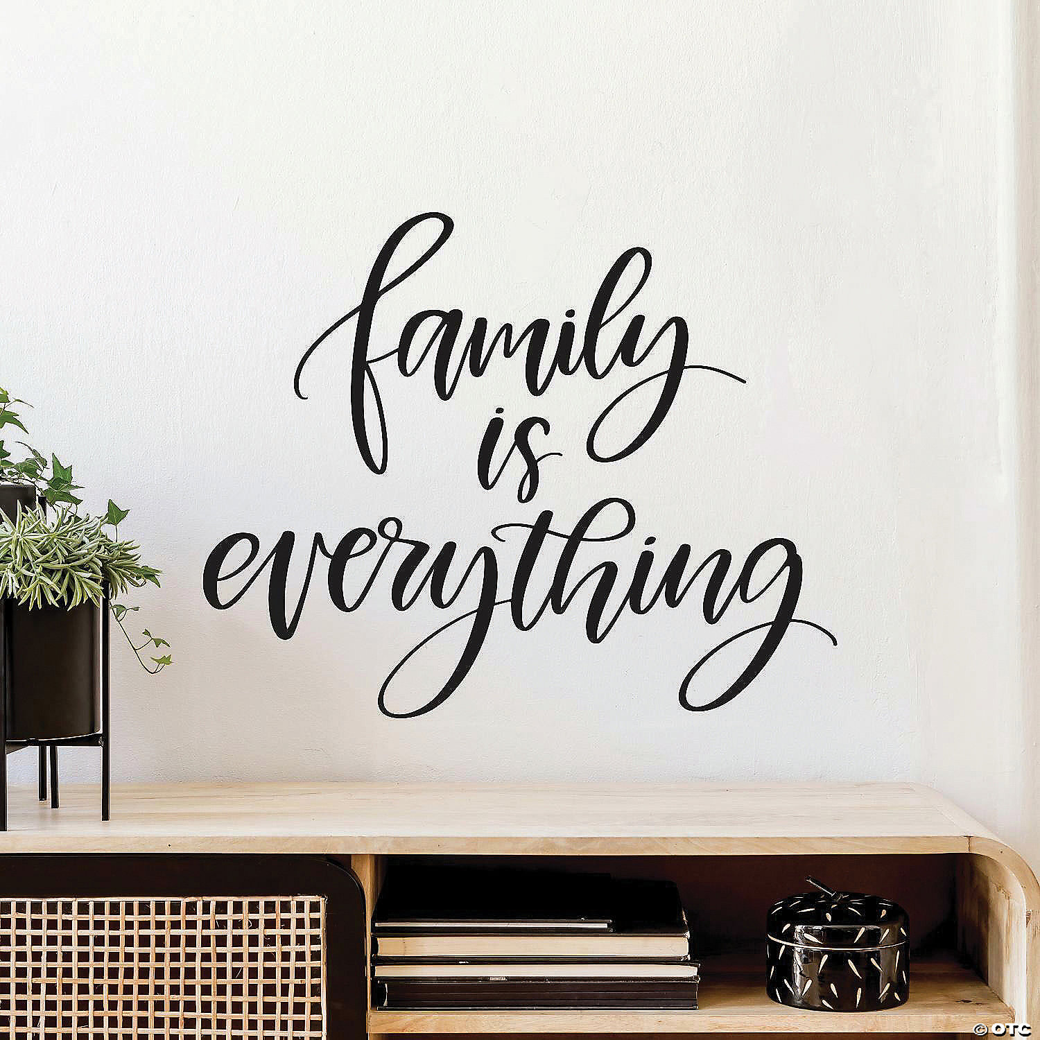 Roommates Family Is Everything Quote Peel And Stick Wall Decals Oriental Trading