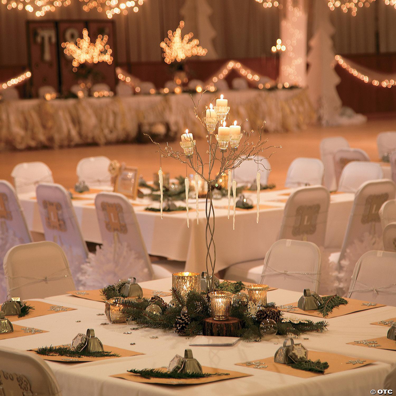 Rustic Wedding Centerpiece Idea Oriental Trading