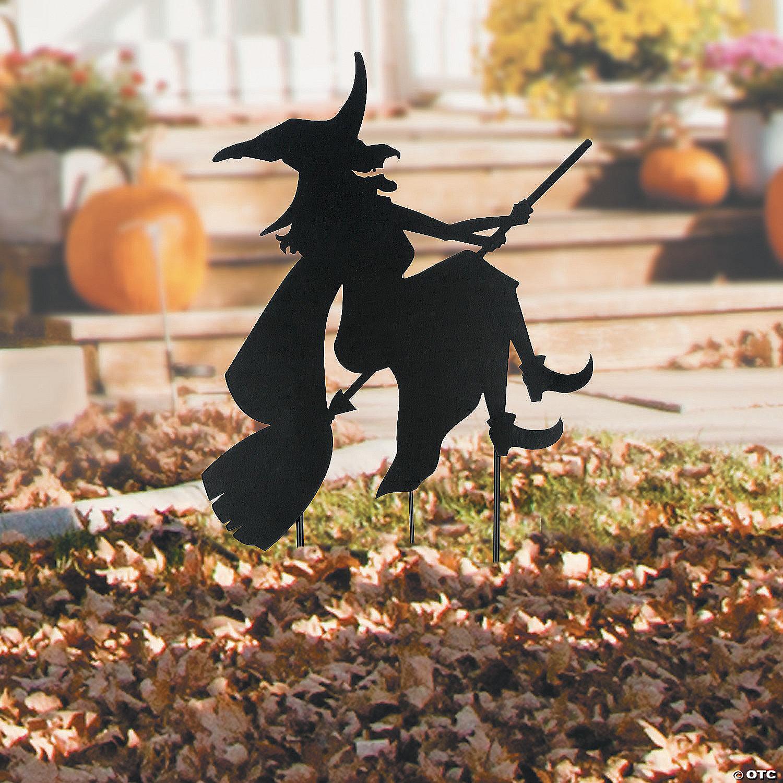 Silhouette Halloween Yard Sign Halloween Decoration