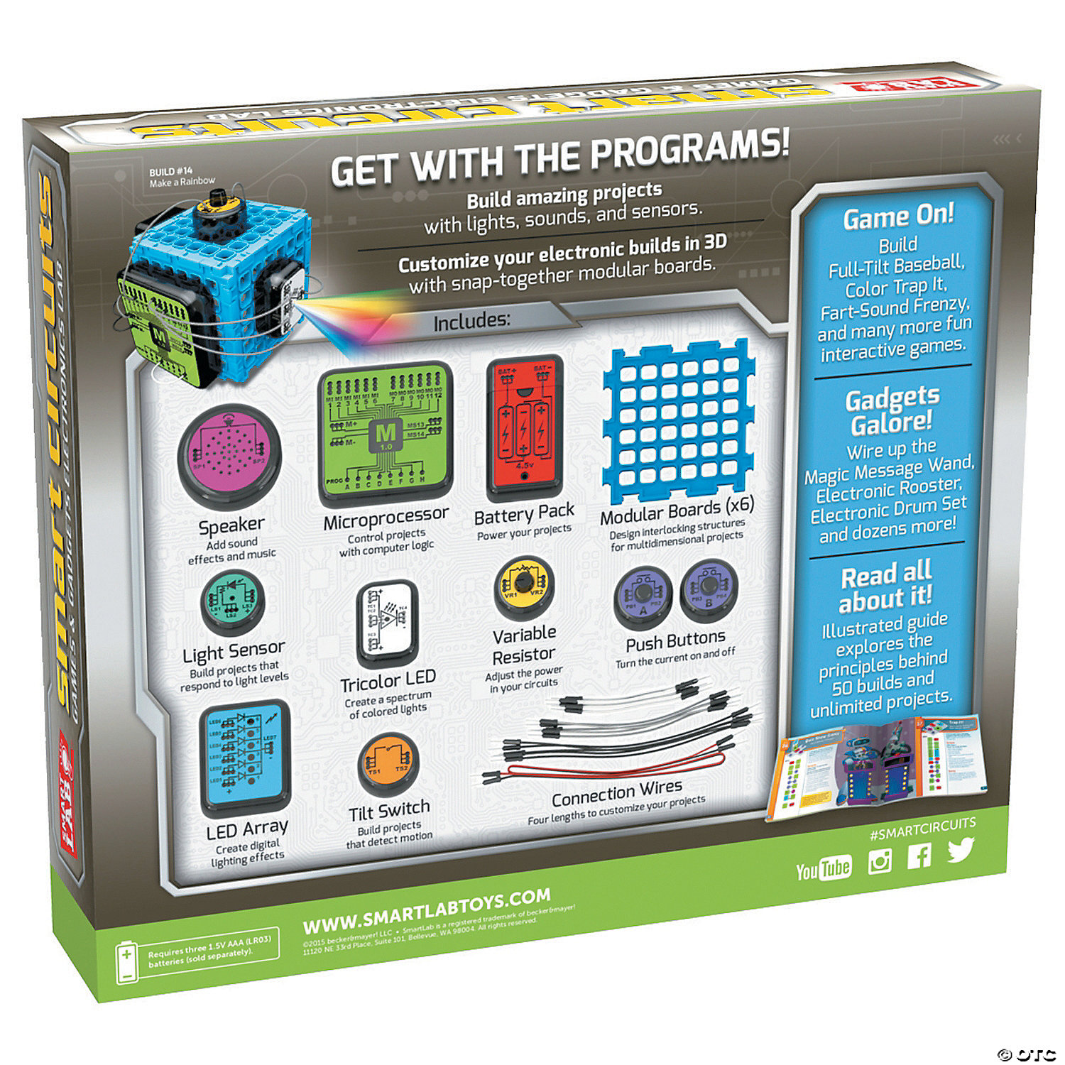 Smartlab Toys Smart Circuits Digital Dice Circuit Electronic Projects