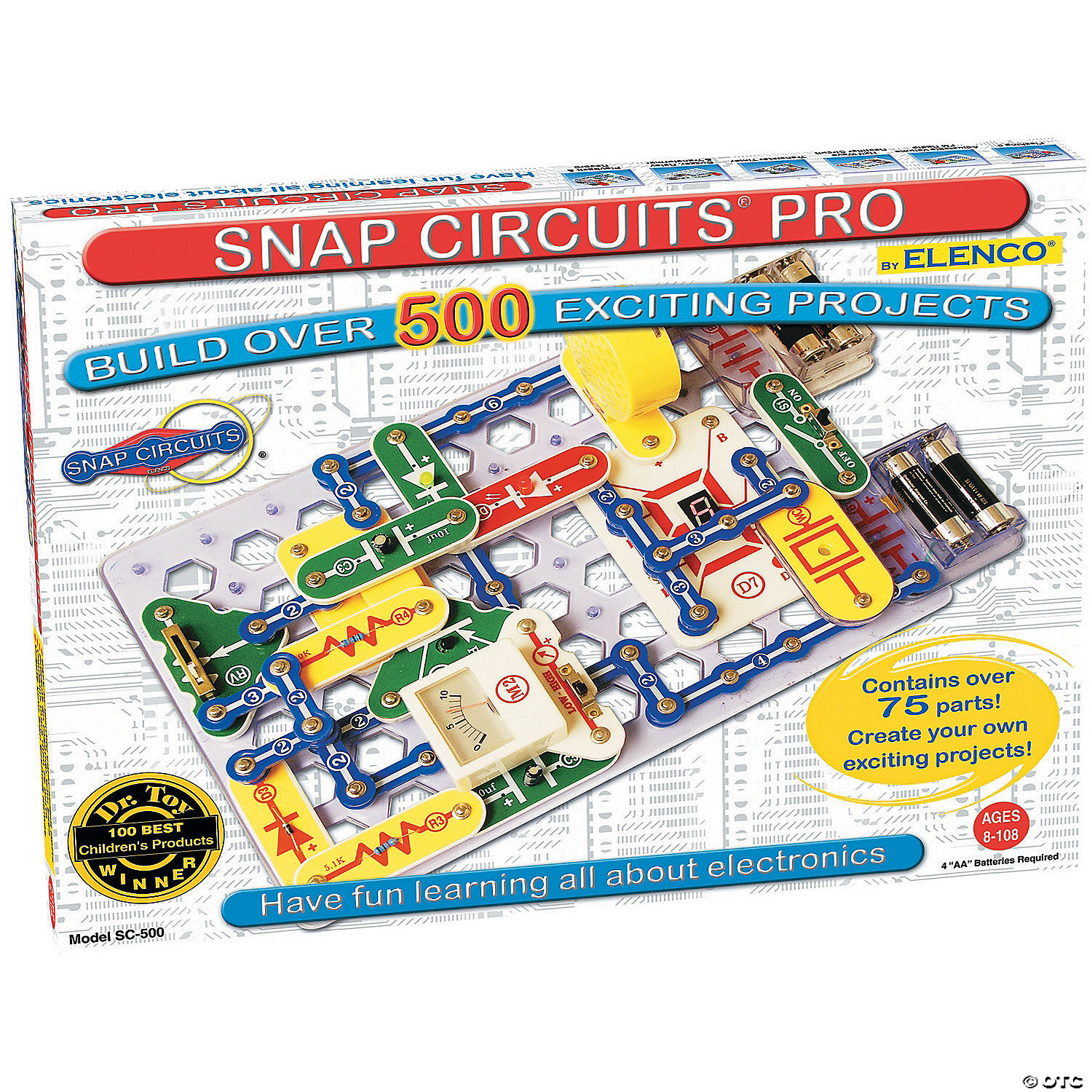 Snap Circuits 500 Lie Detector Circuit