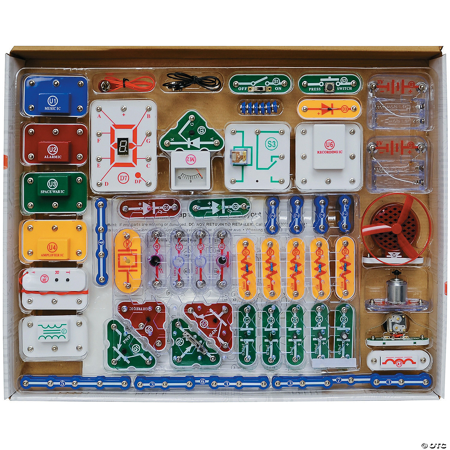 Snap Circuits 500 If You Like The Elenco Light Set Then May We Also