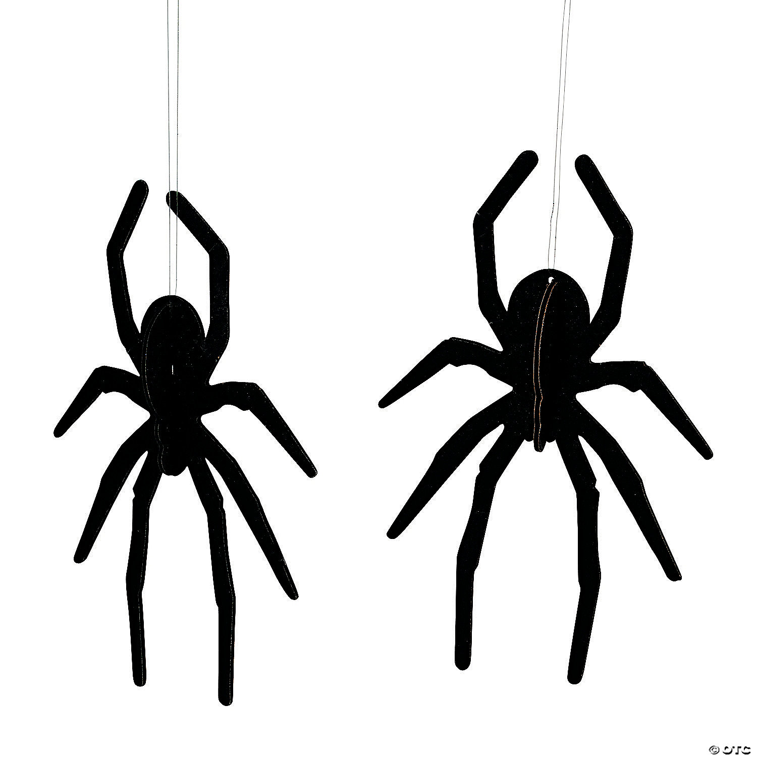 Spider Hanging Ceiling Decorations D 233 Cor Image Thumbnail 1