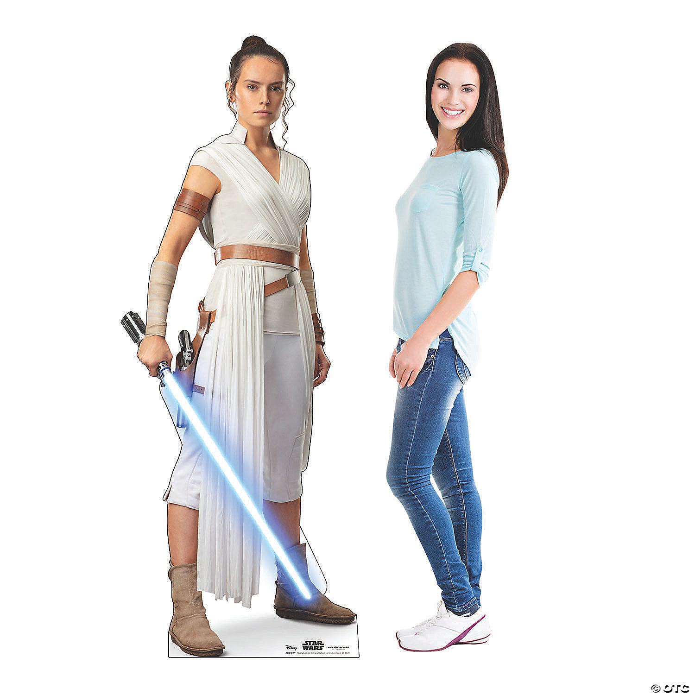 Star Wars Episode Ix The Rise Of Skywalker Rey Cardboard Stand Up Oriental Trading