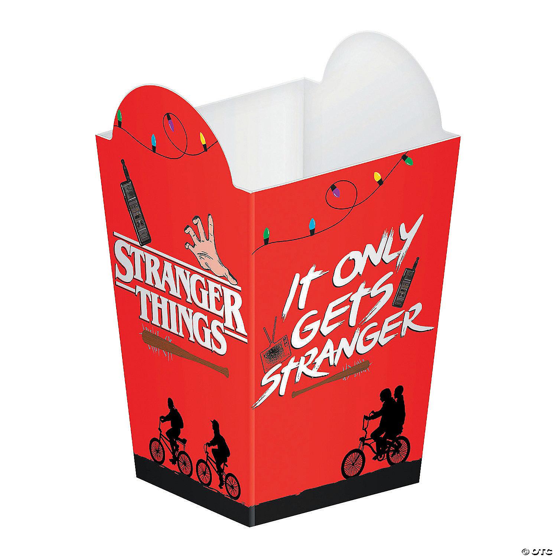 Stranger Things Popcorn Boxes Oriental Trading