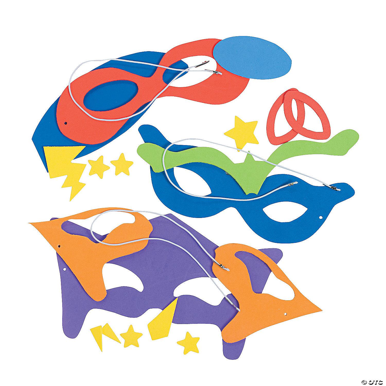Superhero Mask Craft Kit Oriental Trading