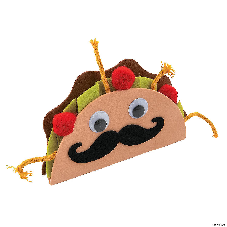 12 Pieces Plush Tacos Toys