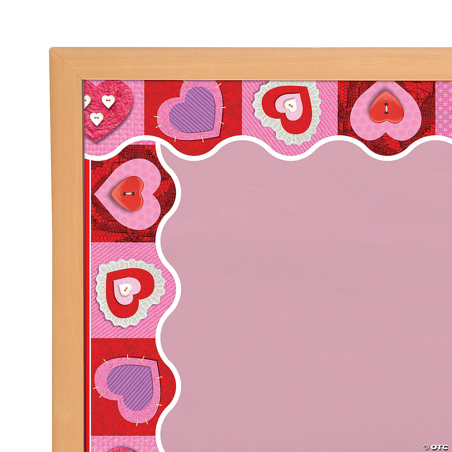 Terrific Trimmers Sup Sup Scrapbook Hearts Bulletin Board Borders Discontinued