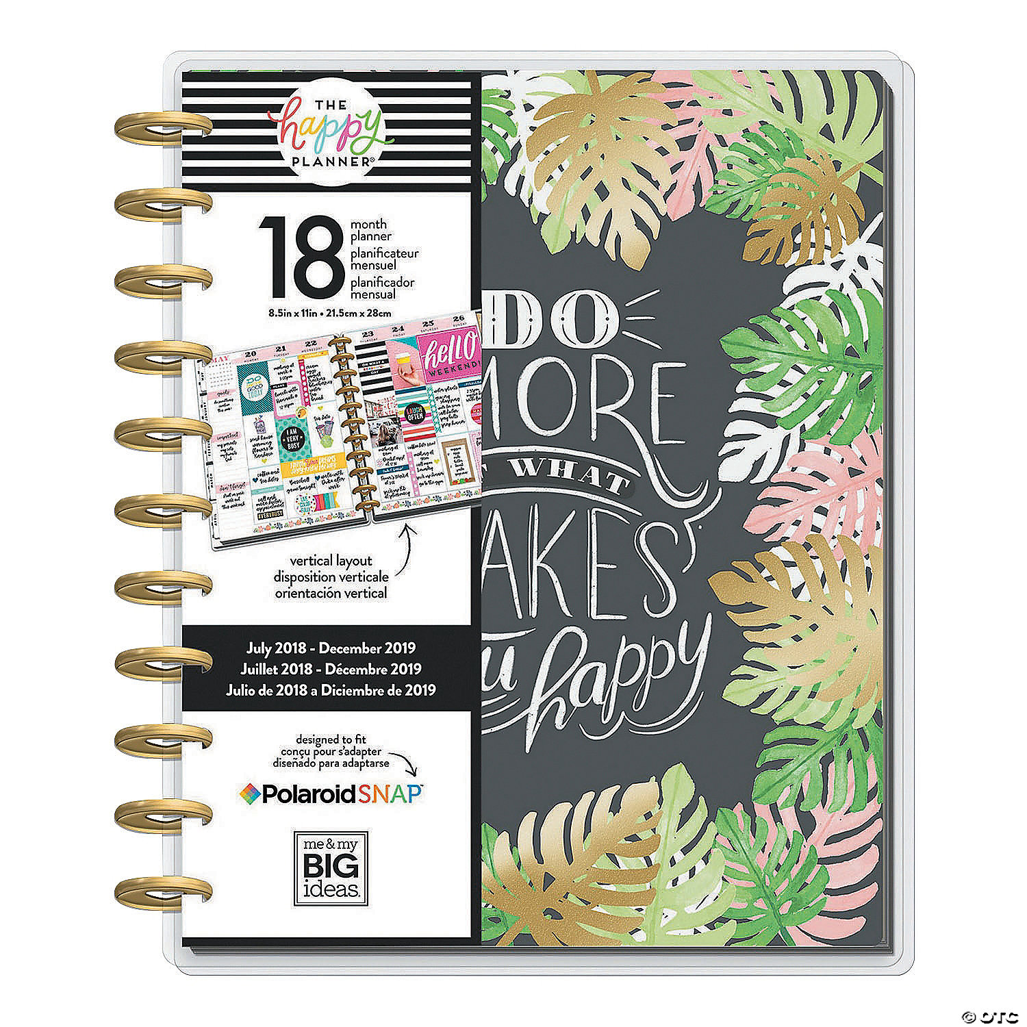 The Happy Planner® 2018-2019 Enjoy 18-Month Planner