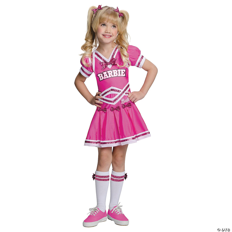 Toddler Girl's Barbie™ Cheerleader Costume - 7T-7T