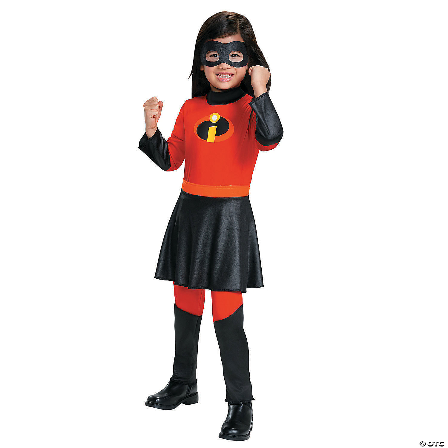 Toddler Girl S The Incredibles Violet Costume With Skirt 3t 4t Oriental Trading