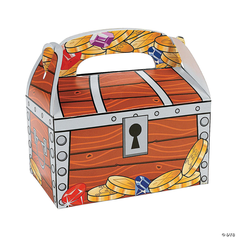 Treasure Chest Favor Boxes Oriental Trading