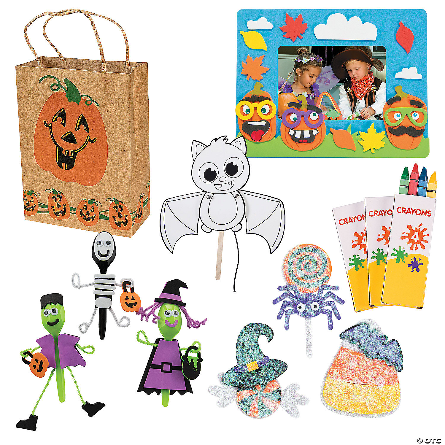 Trick Or Treat Craft Goody Bags Oriental Trading