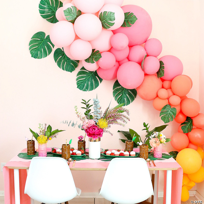 Tropical Balloon Garland Kit 25 Ft