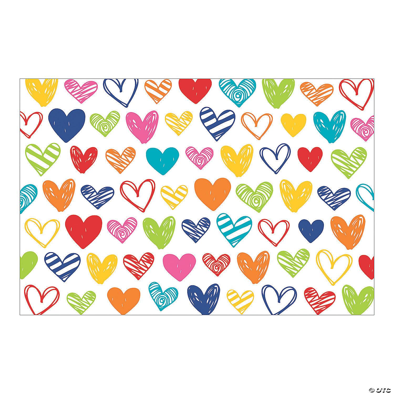 Valentine\u2019s Day Heart Banner Valentine\u2019s Decor Heart Banner