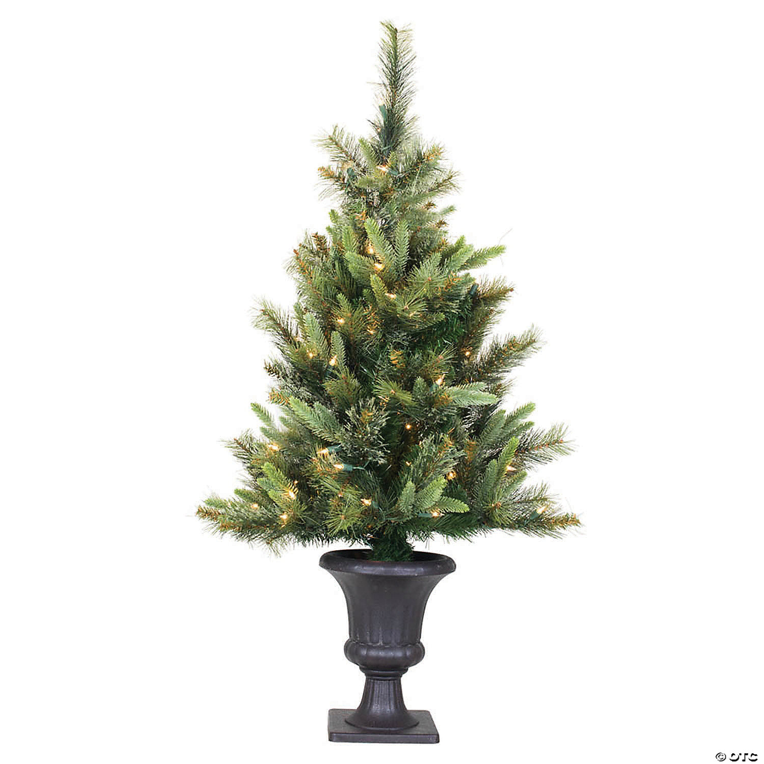 Vickerman 3 5 Cashmere Pine Christmas Tree With Clear Lights