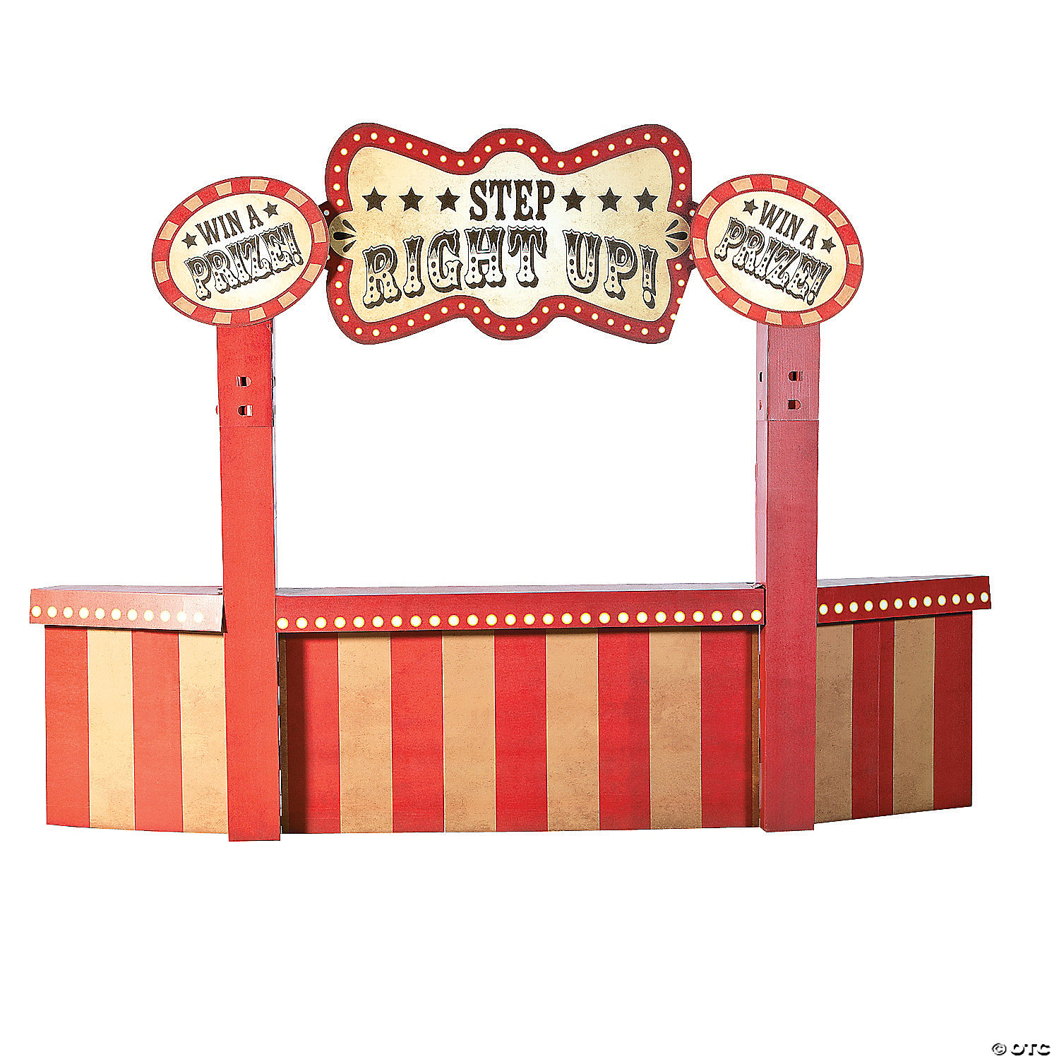 Vintage Circus Attraction Booth Stand Up Oriental Trading