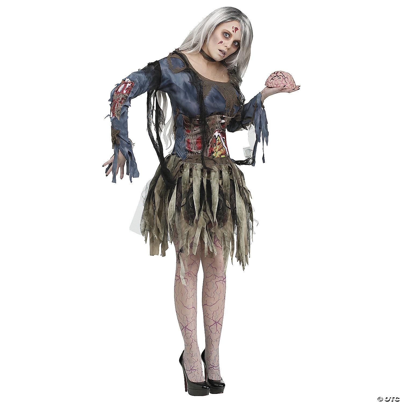 Women's Deluxe Zombie Costume