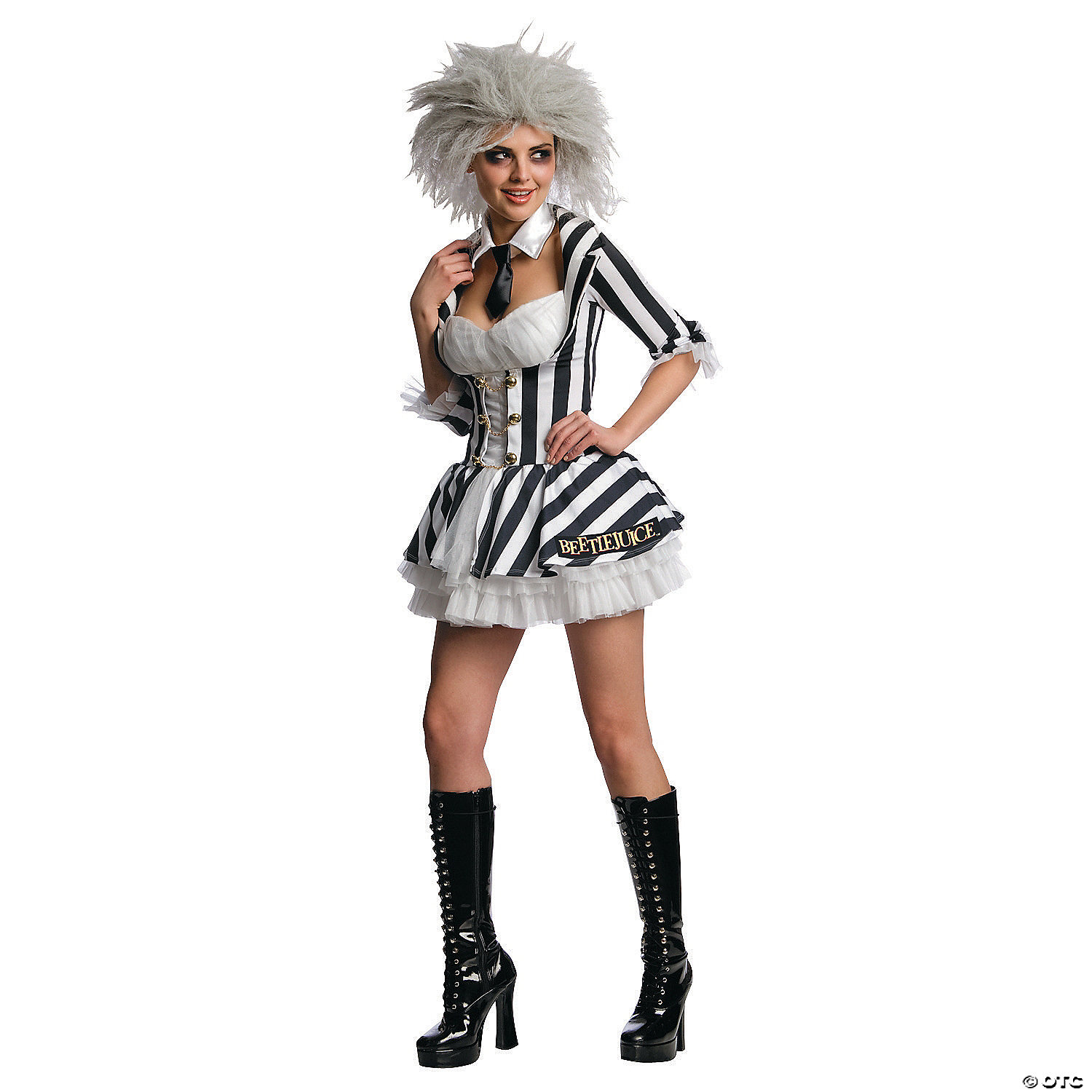 Women S Sexy Beetlejuice Costume Oriental Trading