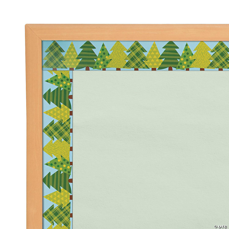 Woodland Tree Bulletin Board Borders Oriental Trading