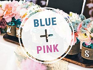 Shop Blue and Pink