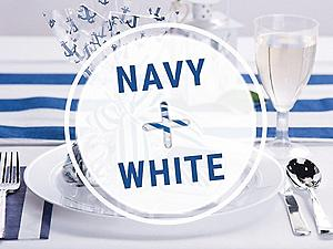 Shop Navy and White