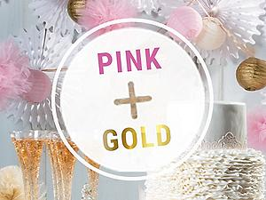 Shop Pink and Gold